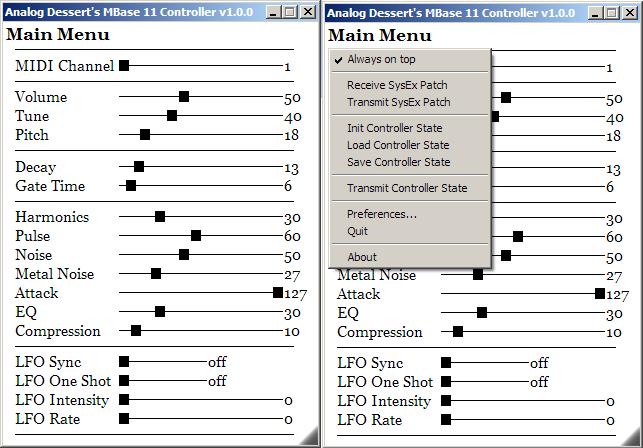 Jomox MBase 11 Controller / Editor / VST